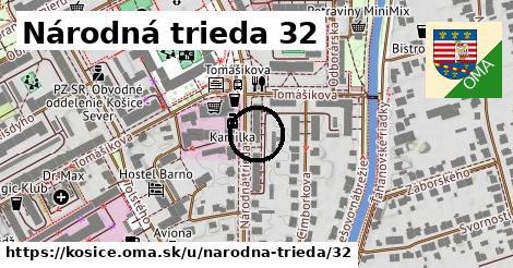 Národná trieda 32, Košice