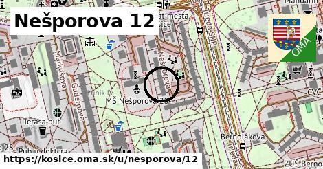 Nešporova 12, Košice