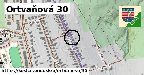Ortvaňová 30, Košice