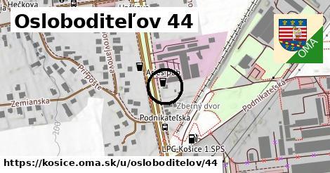 Osloboditeľov 44, Košice