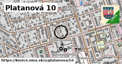 Platanová 10, Košice