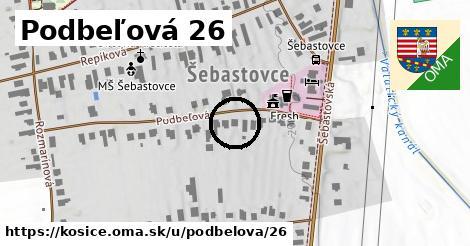 Podbeľová 26, Košice
