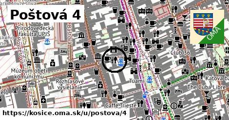 Poštová 4, Košice