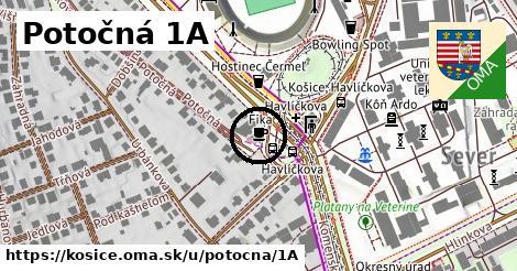 Potočná 1A, Košice