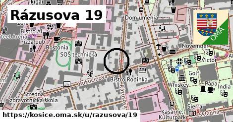 Rázusova 19, Košice