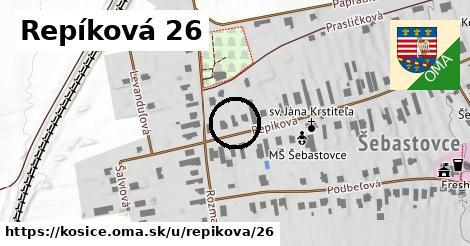 Repíková 26, Košice