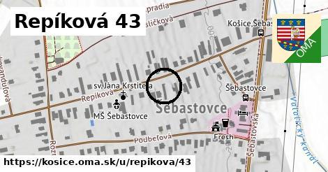 Repíková 43, Košice