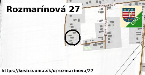 Rozmarínová 27, Košice