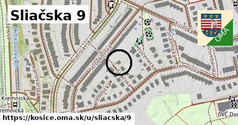 Sliačska 9, Košice