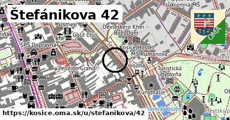 Štefánikova 42, Košice