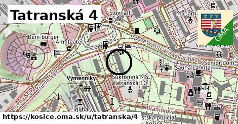 Tatranská 4, Košice