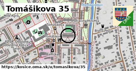 Tomášikova 35, Košice