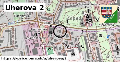 Uherova 2, Košice