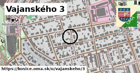 Vajanského 3, Košice