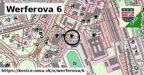 Werferova 6, Košice