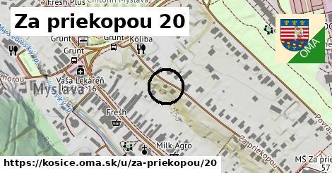 Za priekopou 20, Košice