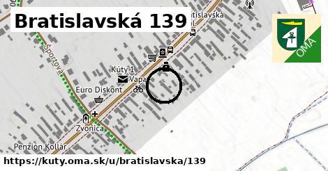 Bratislavská 139, Kúty