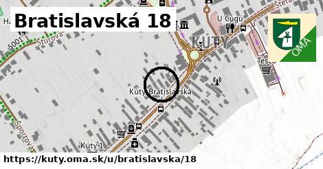 Bratislavská 18, Kúty