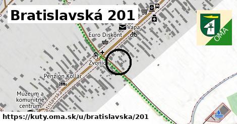 Bratislavská 201, Kúty