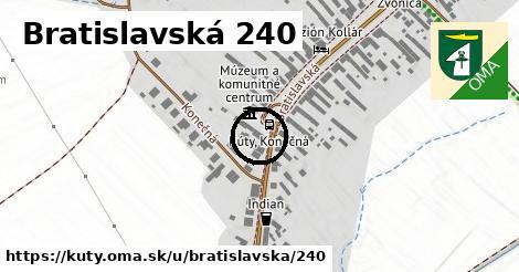 Bratislavská 240, Kúty