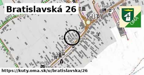 Bratislavská 26, Kúty
