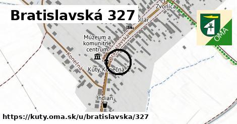 Bratislavská 327, Kúty