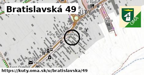 Bratislavská 49, Kúty