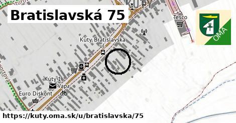 Bratislavská 75, Kúty