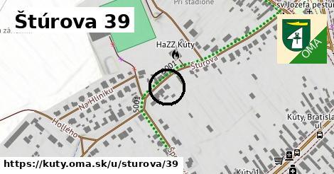 Štúrova 39, Kúty