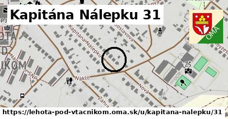 Kapitána Nálepku 31, Lehota pod Vtáčnikom