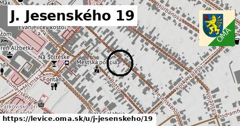 J. Jesenského 19, Levice