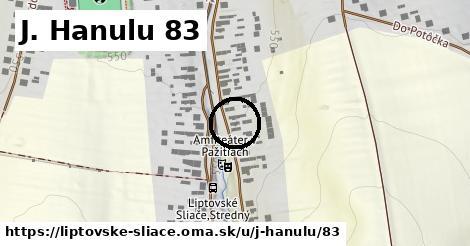 J. Hanulu 83, Liptovské Sliače