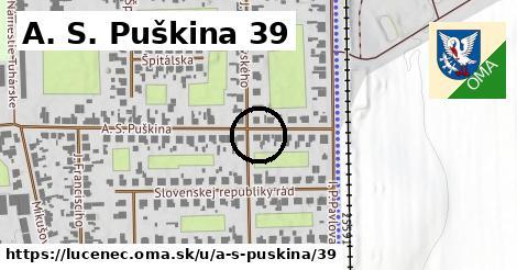 A. S. Puškina 39, Lučenec