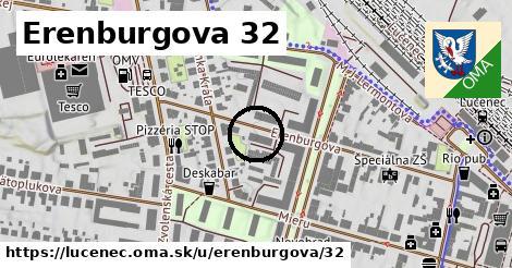 Erenburgova 32, Lučenec