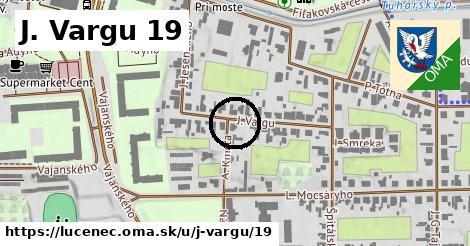 J. Vargu 19, Lučenec