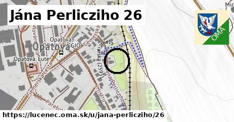 Jána Perlicziho 26, Lučenec