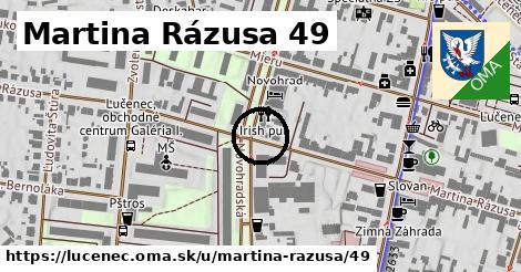 Martina Rázusa 49, Lučenec