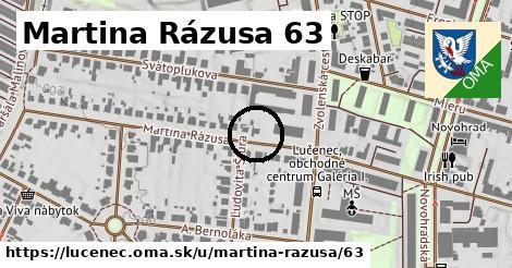 Martina Rázusa 63, Lučenec