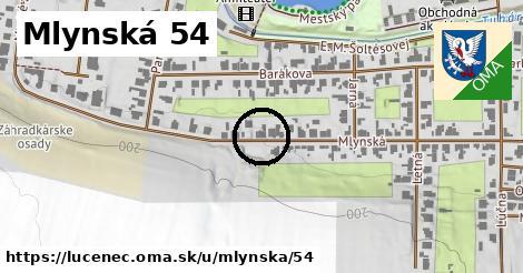 Mlynská 54, Lučenec