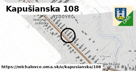 Kapušianska 108, Michalovce