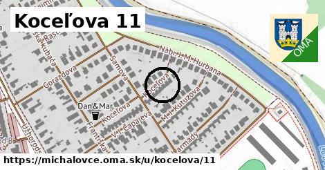 Koceľova 11, Michalovce