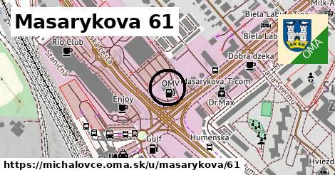 Masarykova 61, Michalovce