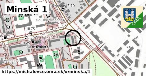 Minská 1, Michalovce