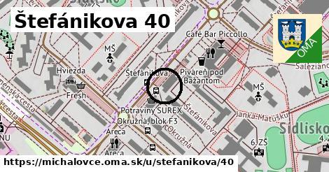 Štefánikova 40, Michalovce