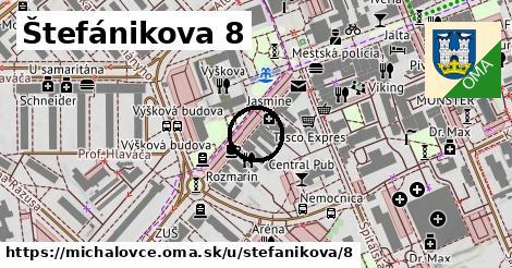 Štefánikova 8, Michalovce