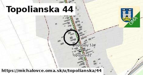 Topolianska 44, Michalovce