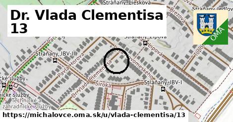 Dr. Vlada Clementisa 13, Michalovce