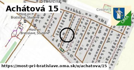 Achátová 15, Most pri Bratislave