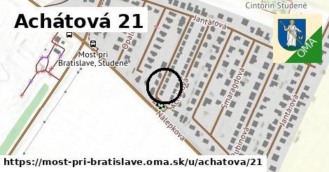 Achátová 21, Most pri Bratislave