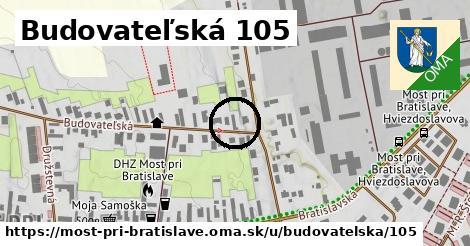 Budovateľská 105, Most pri Bratislave